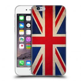 Etui silikonowe na telefon - Vintage Flags Great Britain British