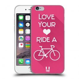 Etui silikonowe na telefon - Workout Inspirations Pink Bike